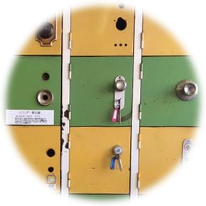 錠前の画像